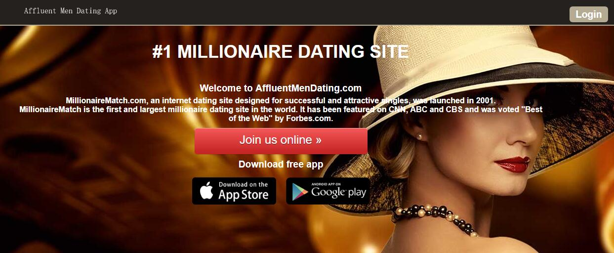 Affluent dating agency